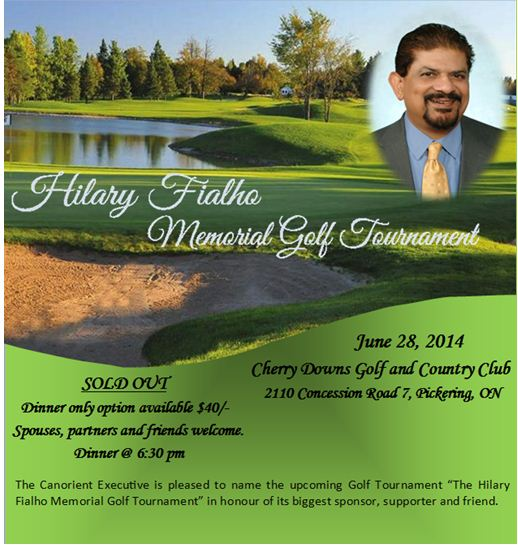 Hilary Fialho Golf tournament June 28