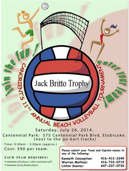 Volleyball tournament Jul 26
